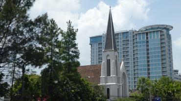 Kerk in Bandung.