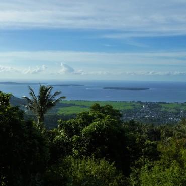 Uitzichtpunt vanwaar we de Gilli eilanden kunnen zien.