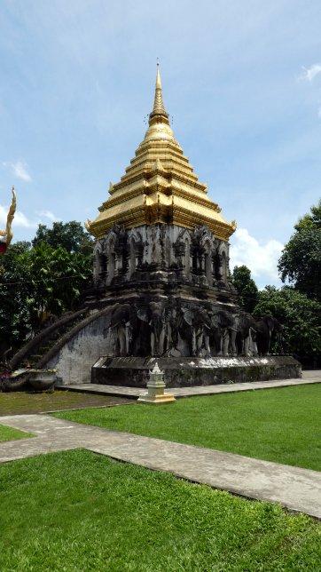 Ook in Chiang Mai zijn er genoeg tempels te bewonderen!